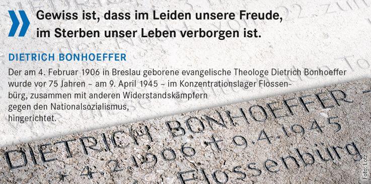 Abendgebet von Dietrich Bonhoeffer